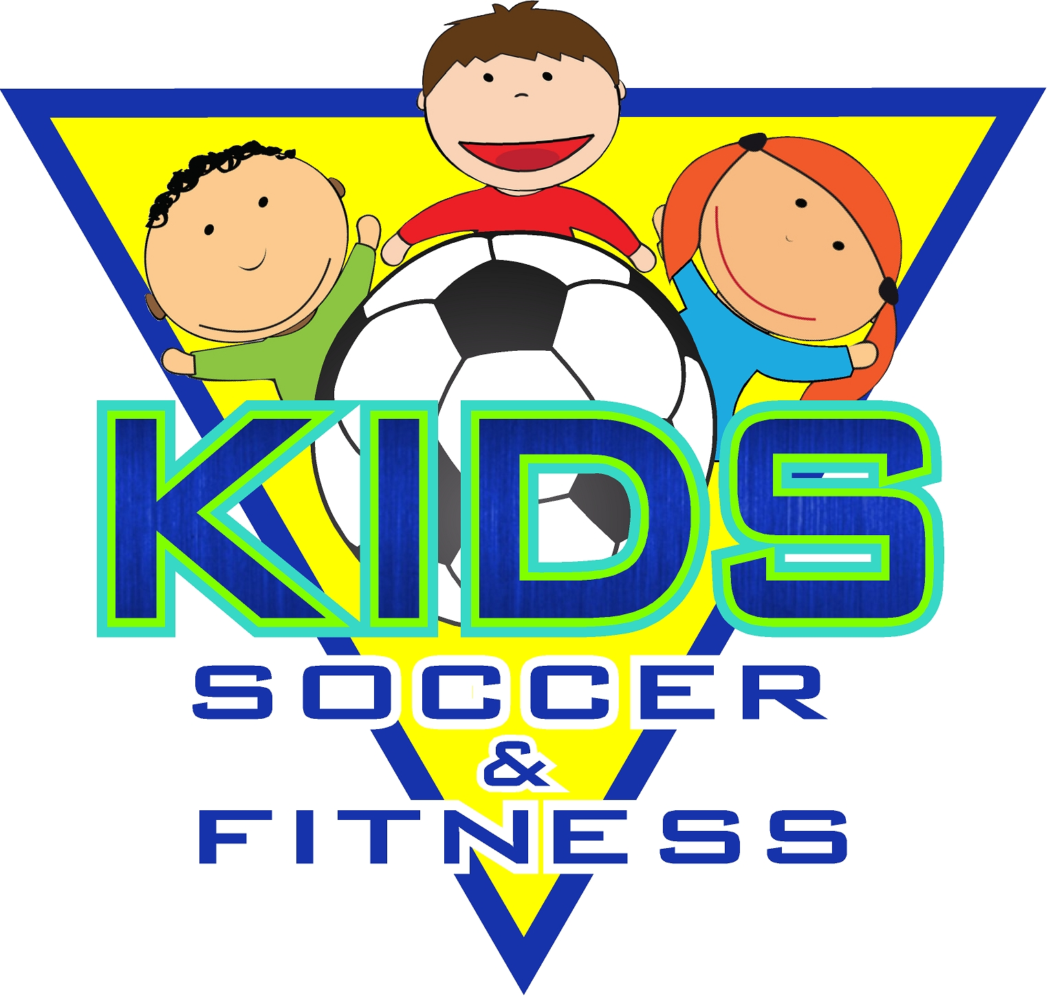 kids soccer  fitness logo  jpeg